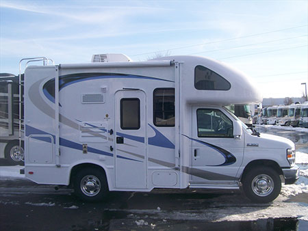 quick look 2010 four winds 19g class c rv small rv life