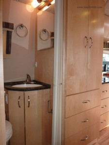 2012 Serenity Br Sink And Wardrobe Small Rv Life
