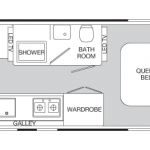 2013 Airstream Land Yacht Floorplan